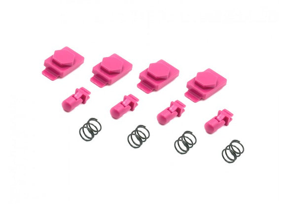 Dytac Hexmag Airsoft HexID Latchplates & Followers (Panther Pink) - Stryker Airsoft