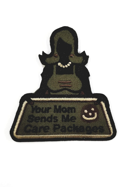 Mil-Spec Monkey Your Mom Sends Me Care Packages Patch (Forest) - Stryker Airsoft