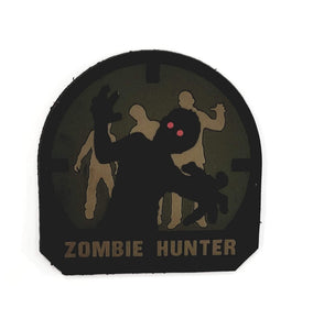 Mil-Spec Monkey Zombie Hunter PVC Patch (Forest) - Stryker Airsoft