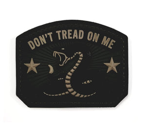 Mil-Spec Monkey Don't Tread On Me PVC Patch (Forest) - Stryker Airsoft