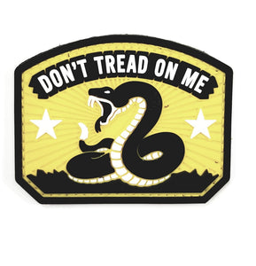 Mil-Spec Monkey Don't Tread On Me PVC Patch (Full Color) - Stryker Airsoft