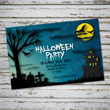 Halloween Cemetery party theme