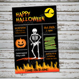 Halloween Skeleton party theme