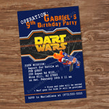 Dart Wars Party theme
