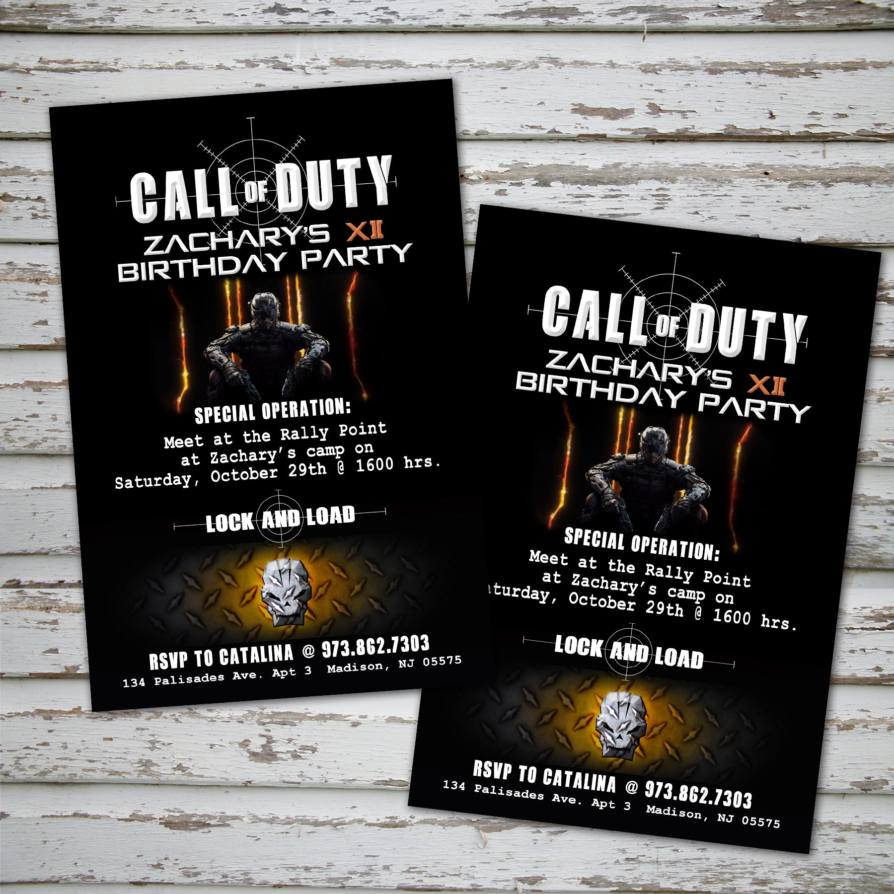Call of duty invitation digital file call of duty party call of duty invitation digital file call of duty party filmwisefo