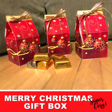 MERRY CHRISTMAS GIFT BOX - DIY Gift for everybody! - Instant Download - PDF - Digital file -Instant Download-