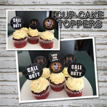 CALL of DUTY - Cupcake Toppers – Digital file -Instant Download-