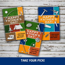 FATHER'S DAY Card - For the SPORTS LOVER - PDF file - Digital file - Instant Download
