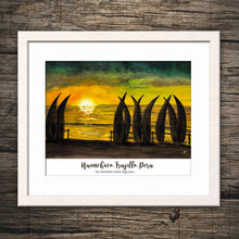 HUANCHACO BEACH, TRUJILLO, PERU Giclee Print - Trujillo, Peru -Watercolor Printing, Watercolor Traditional Art