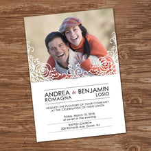 WEDDING INVITATIONS with RSVP CARDS – Collection #2 - Digital file