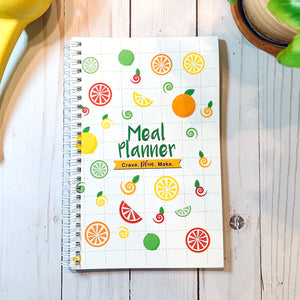 MEAL PLANNER - FOOD JOURNAL - Meal Journal -PRINTED Y SHIPPED Notebook
