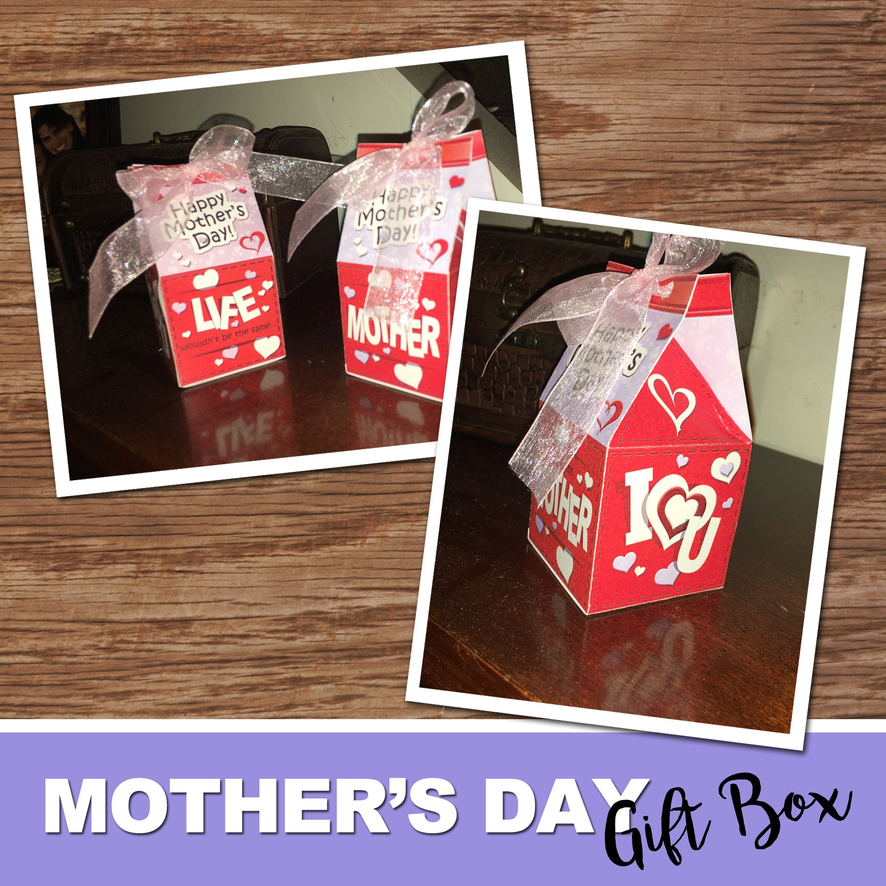 Mother S Day Gift Box Diy Gift For Mom Instant Download