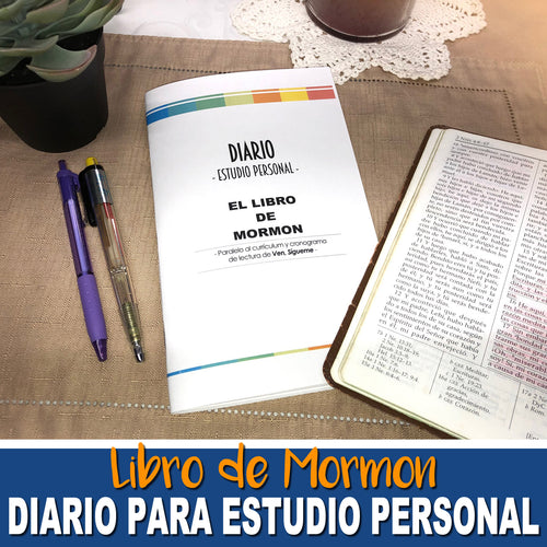 SPANISH-DIARIO PARA EL ESTUDIO DEL LIBRO DE MORMON - Book of Mormon Study Journal