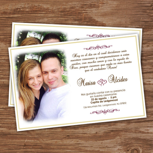WEDDING  INVITATIONS – Collection #1 - Digital file