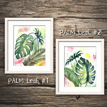 PALM LEAVES PRINT - Watercolor Printing, Watercolor Traditional Art