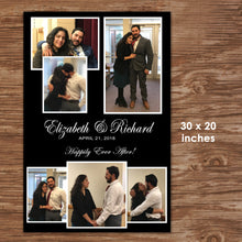 WEDDING WELCOME POSTER - Multi Pictures - Different sizes - Digital file