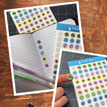 EASTER DOTS STICKER SHEET - Scrapbook and Planner Sticker Set - Stickers