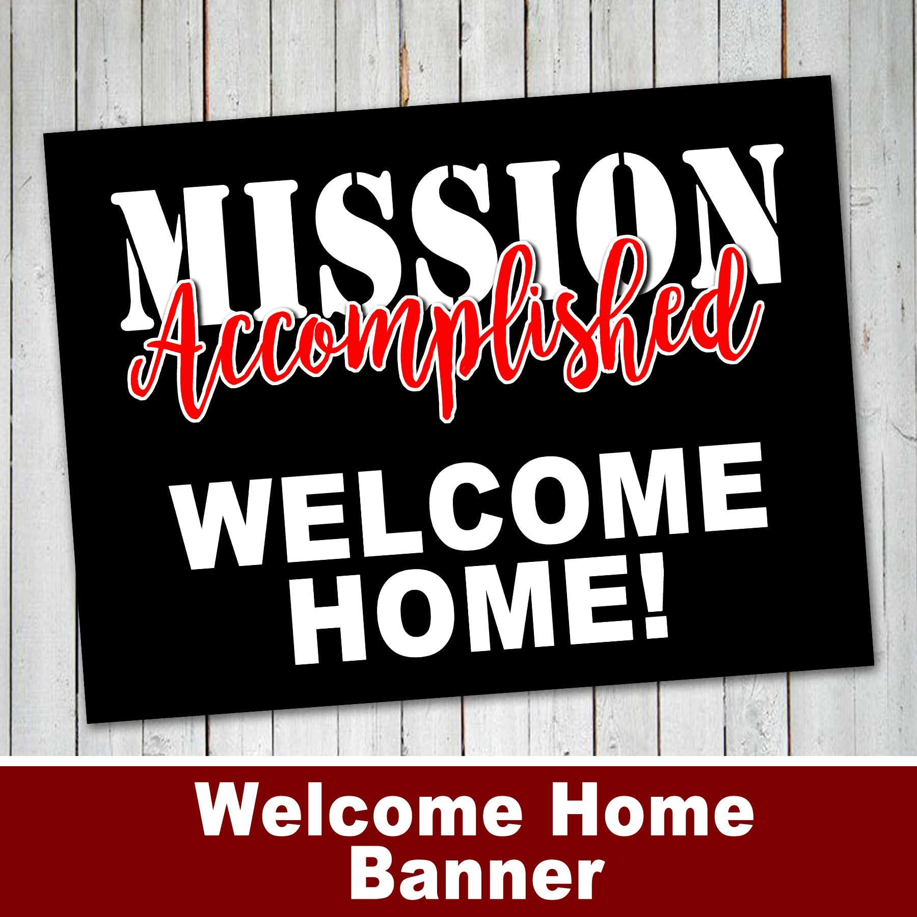 welcome home banner lds missionary welcome banner digital file instant download