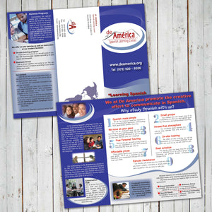 BROCHURE DESIGN SERVICE - Digital files -Instant Download-
