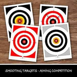 SHOOTING TARGETS - Multiple Pages – Shooting Target, Digital file -Instant Download-