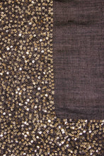 Load image into Gallery viewer, Sparkle scarf - Black/Gold