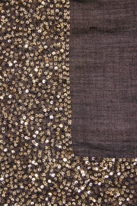 Sparkle scarf - Black/Gold