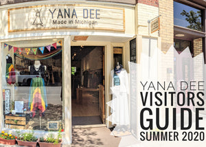 Summer 2020 Visitors Guide for Yana Dee in Downtown Traverse City