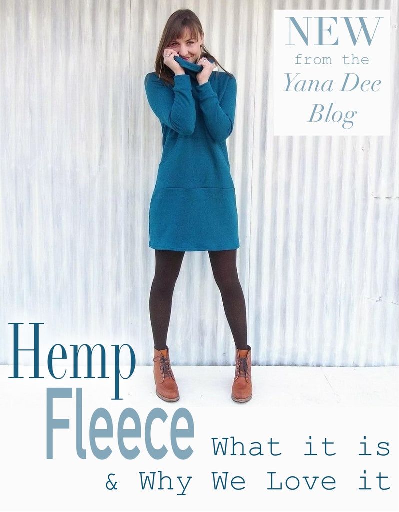Hemp Fleece - What it is and why we love it