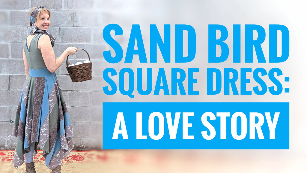 Sand Bird Square Dress: A Love Story
