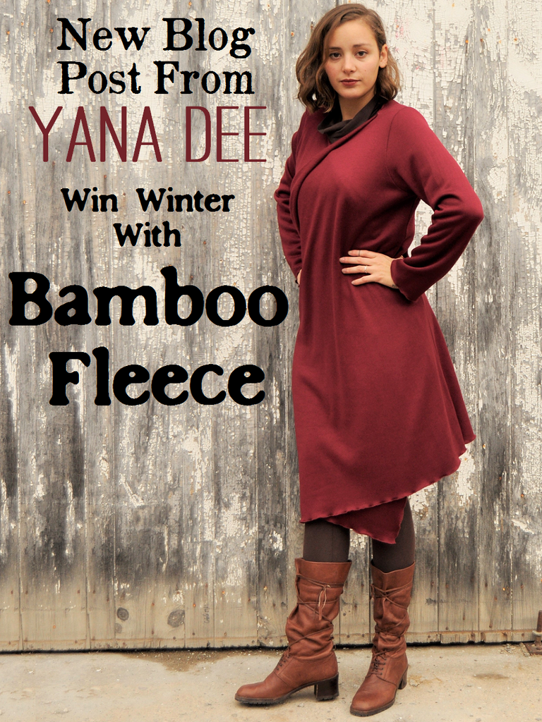 Bamboo Fleece for the Winter Win!