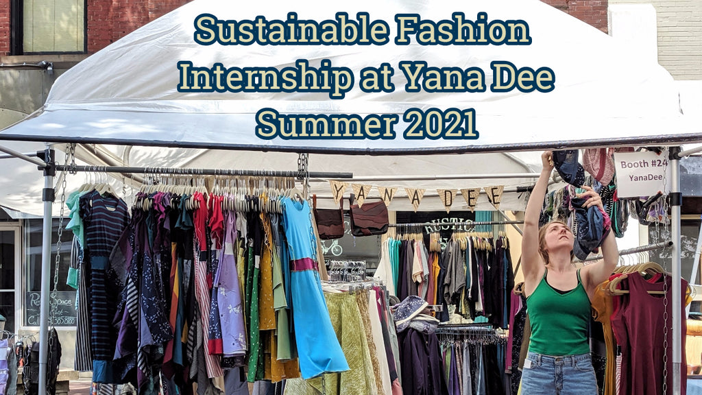 Yana Dee is Seeking a Summer 2021 Store Intern in Traverse City!
