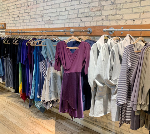 Yana Dee Ethical Apparel Made in Michigan Organic Natural Eco Clothing Environmental