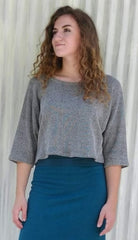 Organic Cotton French Terry Sweater