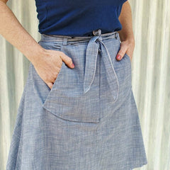 Hemp & Organic Cotton All Natural Pocket Skirt