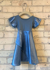 Silk Faux Wrap Dress (6-18 Months)