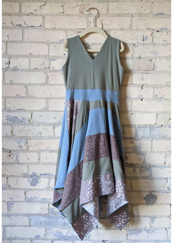 Sand Bird Square Dress (6-8 Years)