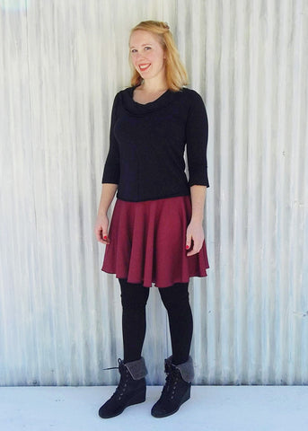Holly Circle Skirt (Custom Made)