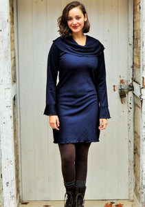 Bamboo Fleece Daphne Tunic Dress - Custom Made - Yana Dee