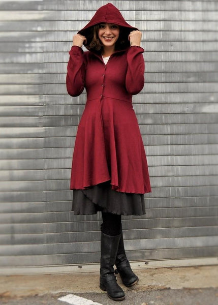 Valora Dress Coat (Custom Made)