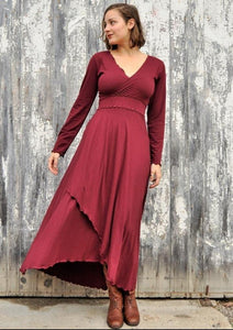Organic Jersey Maxi Dress - Custom Made - Shawna Dress - Handmade Organic Clothing