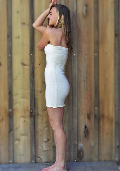 Couture Organic Slip - Raven Tube Dress