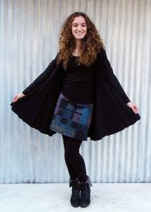 Remnant Wool Skirt - Handmade Organic Clothing