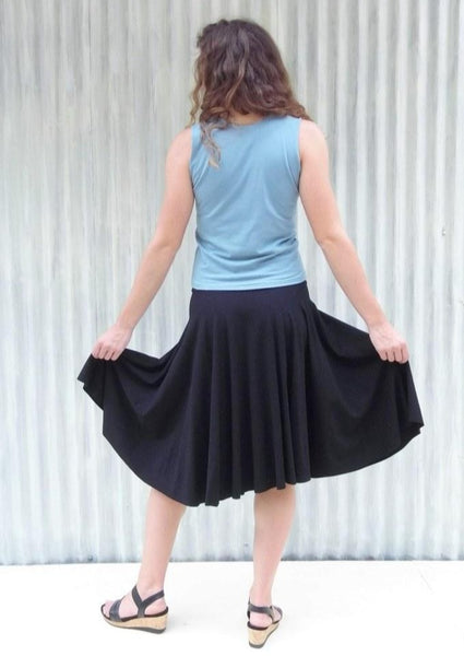 Lailia Circle Skirt - Handmade Organic Clothing