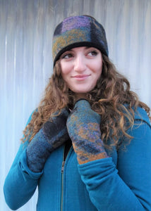Remnant Wool Headband - Lined with Bamboo & Merino Wool Fleece