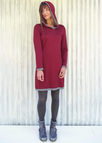 Dominique Bamboo Fleece Tunic (Custom Made)