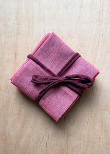 Red Denim Napkins