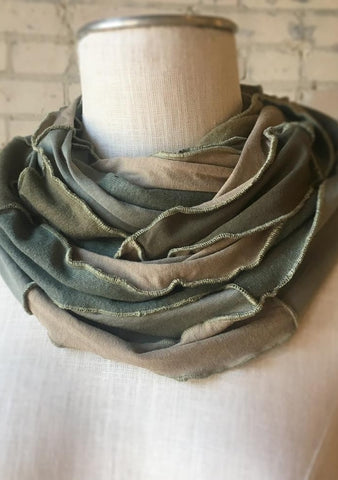 Earth Tones infinity scarf