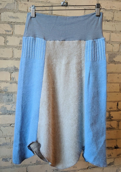 S/M Panel Sweater Skirt