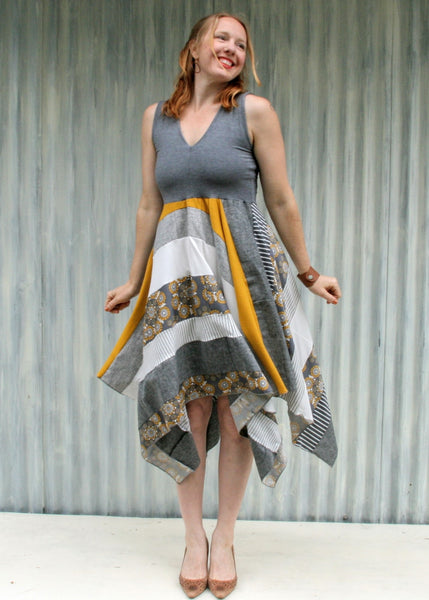 Winter Sunrise Square Dress