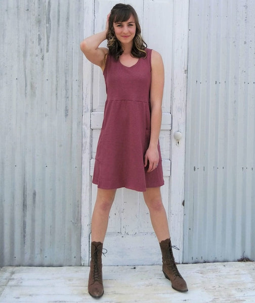 Juneberry Pocket Dress - Custom Made - Handmade Organic Clothing